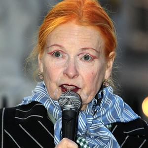 Dame Vivienne Westwood praised the Occupy London protesters in an address from the steps of St Paul's Cathedral