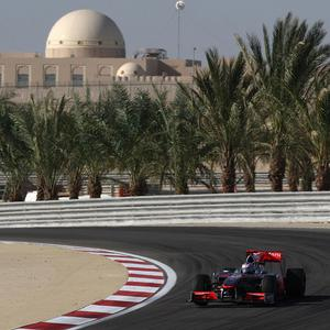 Security has been stepped up in Bahrain ahead of the Formula One event