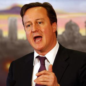 David Cameron said he was 'passionately' in favour of Scotland remaining part of the United Kingdom