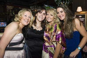 Christmas Social Pics -Taphouse pictured Louise Walsh, Irene Diaz, Vicky MacEoin and Elaine Coyle
