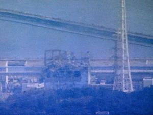 This image made from Japan's NHK public television via Kyodo News shows the Fukushima Dai-ichi power plant's Unit 3 after an explosion Monday morning, March 14, 2011, in Okumamachi, Fukushima prefecture, northeastern Japan. Japan's chief cabinet secretary said a hydrogen explosion has occurred at Unit 3. The blast was similar to an earlier one at a different unit of the facility. (AP Photo/NHK TV via Kyodo News) JAPAN OUT, MANDATORY CREDIT, NO SALES, TV OUT, EDITORIAL USE ONLY, NO SALE IN CHINA, HONG  KONG, JAPAN, SOUTH KOREA AND FRANCE