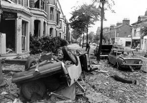 EXPLOSIONS: BELFAST: BOTANIC AVENUE 21ST JULY 1972Bloody Friday