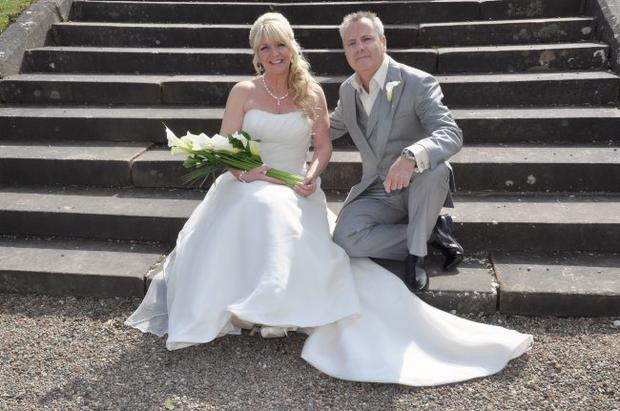 """Wedding of Gary Hassard and Alison Pearce <p><b>To send us your Wedding Pics <a  href=""""http://www.belfasttelegraph.co.uk/usersubmission/the-belfast-telegraph-wants-to-hear-from-you-13927437.html"""" title=""""Click here to send your pics to Belfast Telegraph"""">Click here</a> </a></p></b>"""
