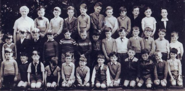Liam Neeson ... can you spot the Ulster schoolboy who was destined for great things? Next picture solves the mystery.