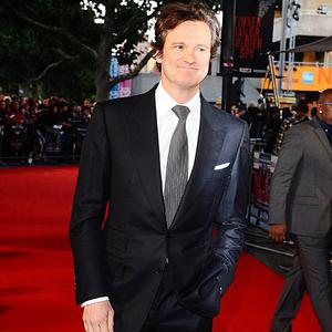 Colin Firth has received his CBE from Prince Charles
