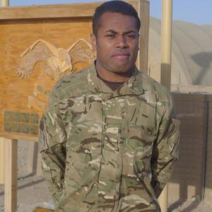 Private Ratu Manasa Silibaravi, originally from Fiji and of 23 Pioneer Regiment The Royal Logistic Corps, was killed in southern Afghanistan (MoD/PA)