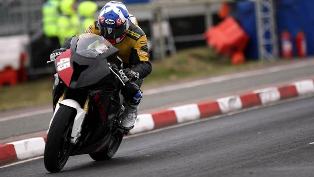 Keith Amor pictured at the second practice on the North coast circuit at the Relentless International North West 2010
