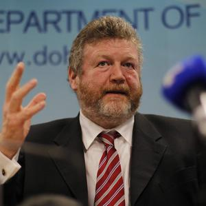 Health Minister James Reilly said the health sector will have the capacity to improve services despite funding cuts