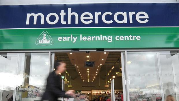 Mothercare has five branches in Northern Ireland