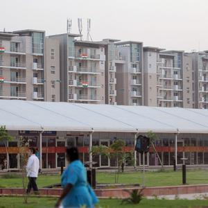 The athletes' accommodation blocks in New Delhi sparked concern in the run-up to the Commonwealth Games
