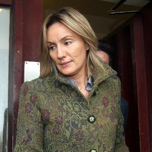 Hazel Stewart is accused of helping murder her then husband and his lover