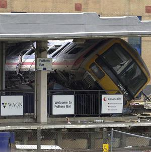 Seven people died in the Potters Bar rail crash as a result of points failure, an inquest jury ruled
