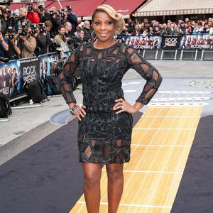 Mary J Blige enjoyed letting out her inner rock chick