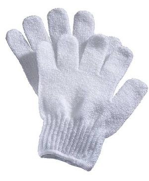<b>5. Liz Earle exfoliating gloves: £2.65, johnlewis.com - </b>The easiest way to smooth, healthy-looking skin is to apply your body wash with a pair of exfoliating gloves, to prevent clogged pores and dry patches.