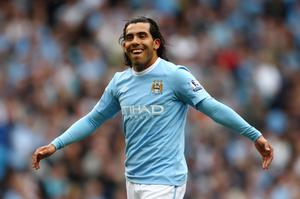 Carlos Tevez has been in sensational form for Manchester City