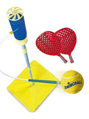 <b>10. Mookie Swingball</b>  £19.99, amazon.co.uk  The Swingball's a great way to develop hand-eye co-ordination in younger players, as well as being ideal to play as a family. Simply fill the base with sand or water.