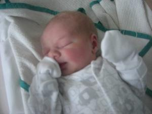 Baby Harry Wareing. Born 14/07/2012 to very proud parents Andrew & Leona both from East Belfast.