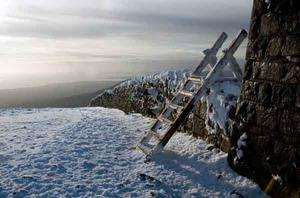 Winter on the top of Slieve Donard. By David Craig, Dundonald