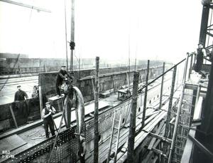 Titanic. Photograph © National Museums Northern Ireland. Collection Harland & Wolff, Ulster Folk & Transport Museum
