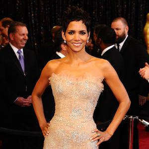Halle Berry turned up for the exhibition opening in LA