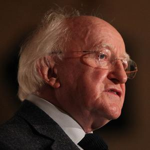President Michael D Higgins will start his visit to Italy in Rome