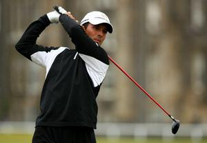 Mike Weir at The Open. July 2010