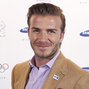 David Beckham stopped off for pie and mash