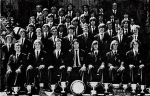Methodist College Belfast - Boys Rowing Club 1975-76 - submitted by Alan Blaney