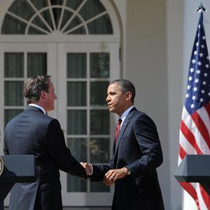 Prime Minister David Cameron has sent his congratulations to re-elected US President Barack Obama