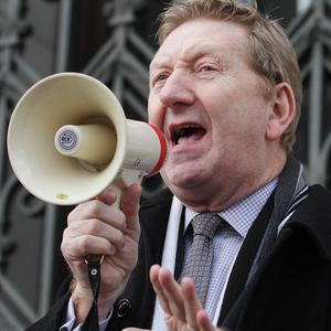 Len McCluskey criticised Labour's change of policy on austerity measures
