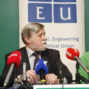 Technical Engineering and Electrical Union general secretary Eamon Devoy has called for a campaign of civil disobedience