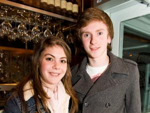 Joanne Halliday and William Foote in the Little Wing, Bangor