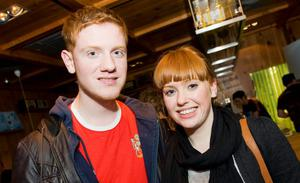 Francis McCrory and Sarah Patterson in the Little Wing, Bangor