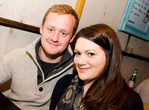 David Crowther and Libby Hamilton in the Little Wing, Bangor