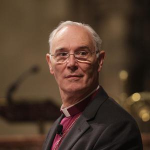 Revd Alan Harper, Archbishop of Armagh and Primate of All Ireland, addresses the General Synod in Christ Church Cathedral, Dublin