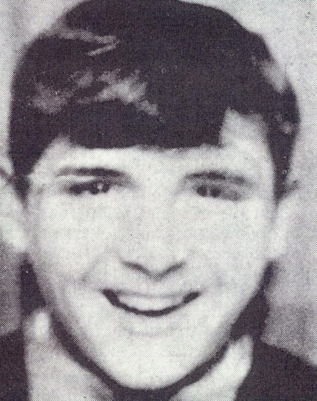 Hugh Gilmore who was killed on Bloody Sunday.