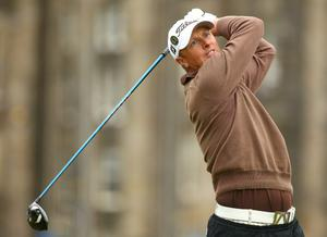 Fredrik Andersson Hed at The Open. July 2010