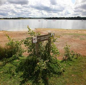 Bewl Water near Lamberhurst, Kent, which is currently at 80 per cent of its capacity