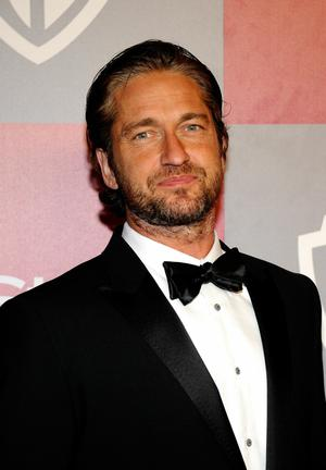 BEVERLY HILLS, CA - JANUARY 16:  Actor Gerard Butler arrives at the 2011 InStyle And Warner Bros. 68th Annual Golden Globe Awards post-party held at The Beverly Hilton hotel on January 16, 2011 in Beverly Hills, California.  (Photo by Kevork Djansezian/Getty Images)