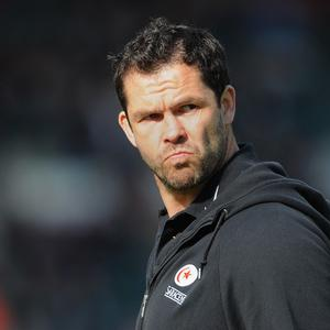 Andy Farrell recently signed a deal to return to England's coaching staff
