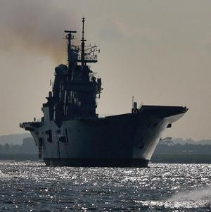 HMS Ark Royal will be made available for the relief effort