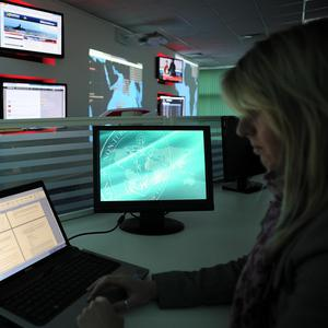 The new state-of-the-art global anti-piracy centre in Portsmouth, Hampshire has been unveiled (Dryad Maritime)