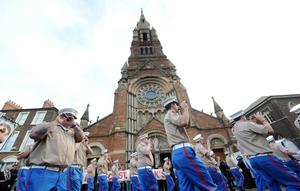 Ulster Covenant centenary parade in Belfast