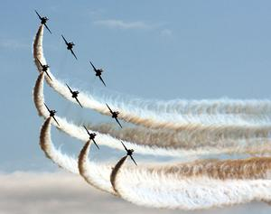 Alastair Stockman captures some stunning images at the Portrush Airshow