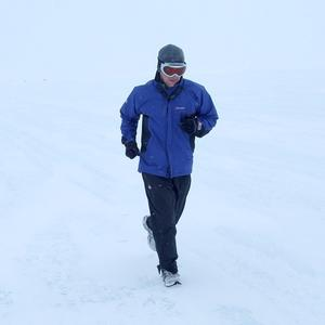 Richard Donovan is preparing to run seven marathons in less than seven days on the seven continents