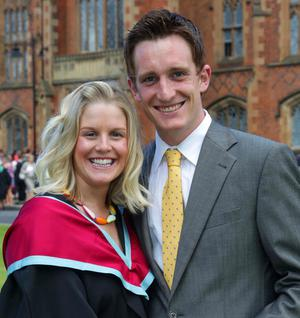 Shelley Savage from Banbridge who graduated with a MA in Early Childhood Studies is joined by Colin Dowds.