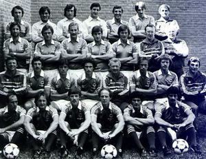 Northern Ireland's 1982 World Cup finals squad