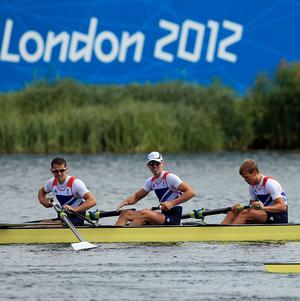 Great Britain, including Coleraine brothers Richard and Peter Chambers, claimed silver in the final of the lightweight men's four at Eton Dorney