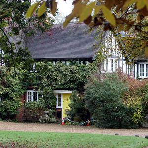 Tun Cottage in Ascot, Berkshire, where missing woman Joanne Brown lived