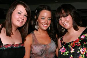 Michelle Doherty, Katie Bell and Julie Cregan on a nite out for their friend Ava Sweeney's 20th birthday at the Metro Bar in Londonderry